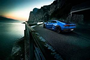 Lamborghini  Lamborghini Huracan  Blue Cars  Vehicle