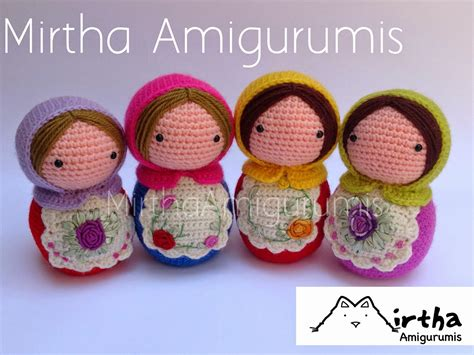 como hacer amigurumis crochet paso a paso mirtha amigurumis matrioskas amigurumis