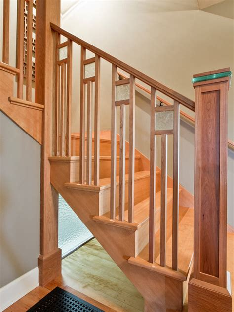 craftsman staircase design ideas remodels