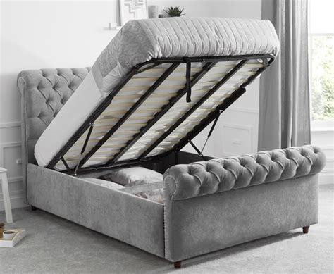 Ottoman Sleigh Bed by The Sleigh Bed With Ottoman Storage Luxury Ottoman Beds