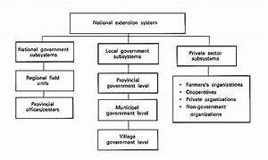 The Flow Of Information In The National Extension System