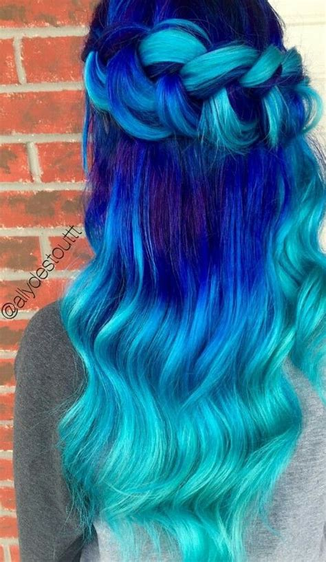 Best 25 Bright Blue Hair Ideas On Pinterest Turquoise Hair