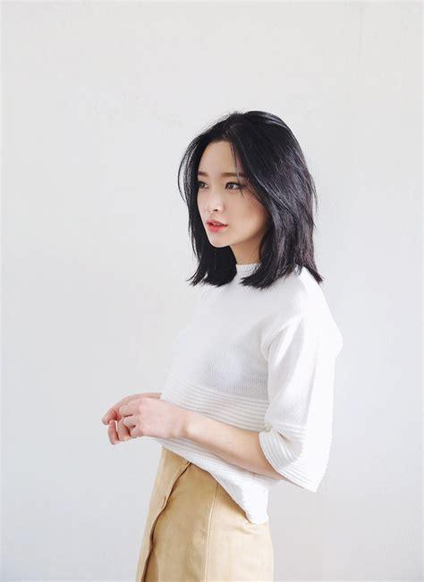 pin  maddie   hair korean short hair hair lengths