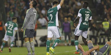 Real Madrid empató 1-1 en su visita al Betis | Liga de ...