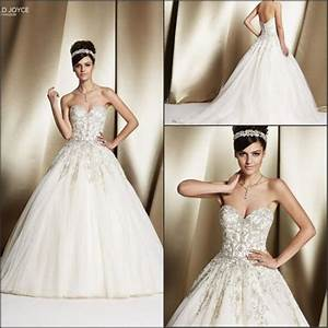 romantic veni infantino wedding dresses with beads sequins With custom made wedding dresses online