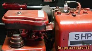 New Engine    5 Horse Briggs And Stratton  Horizontal
