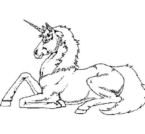 sta e colora unicorno disegno di unicorno seduto da colorare acolore