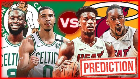 Boston Celtics vs Miami Heat Eastern Conference Finals ...