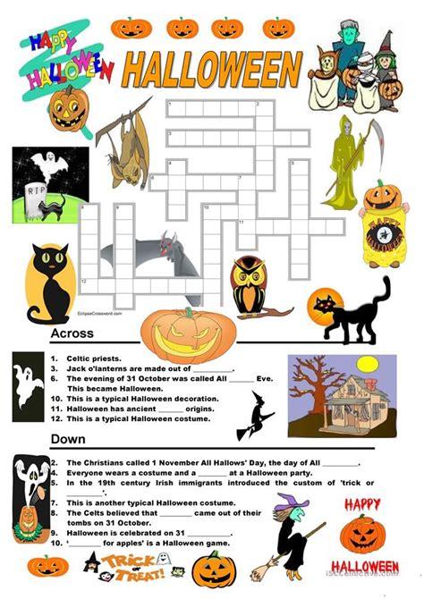 Halloween Quiz Worksheet  Free Esl Printable Worksheets Made By Teachers