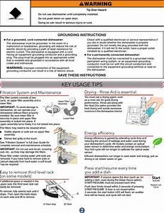 Kitched Aid Dishwasher User Manual