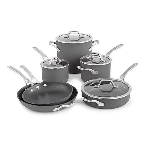 cookware calphalon nonstick anodized signature hard piece grey sets glass amazon repeeron pans pots pan kitchen pot oven cooking collection