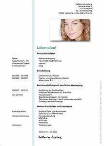 Einverständniserklärung Der Eltern Für Bewerbung : beruf der etern im lebenslauf ~ Themetempest.com Abrechnung