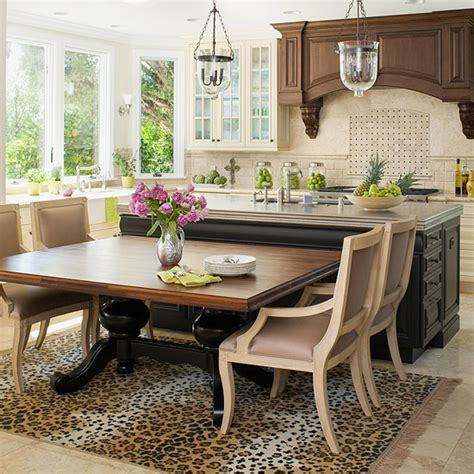 kitchen island dining table combo remodel chicagoland amazing kitchen island ideas 8170