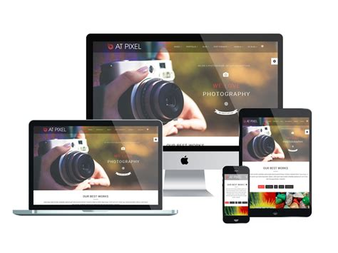 Top Free Photography Website Templates by Top Best Free Joomla Image Gallery Photography Website