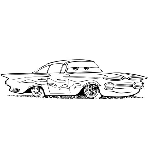 Dibujos De Cars Para Pintar