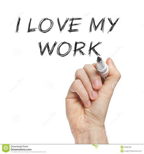 I Love My Work Stock Photo Image Of Short, Workaholic