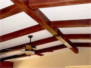 Faux Wood Beams Ceiling Beams Ideas 100 Faux How To Dye A