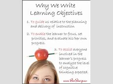 Quotes About Learning Objectives QuotesGram