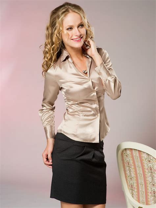 satin blouse gold satin blouse black blouse