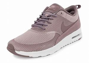 Nike Air Max Thea Txt Plum Flog Basket Femme, nike sb dunk high