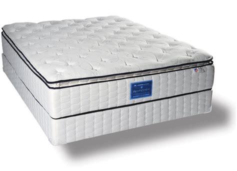 pillow top mattresses surfside spinal comfort pocket coils mattress collection