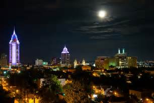 photographers in san antonio moon downtown mobile al photograph by tarver shelton