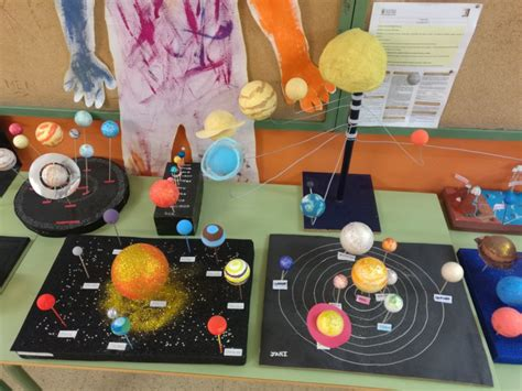 maquetas sistema solar ies francisco hern 193 ndez monz 211 n