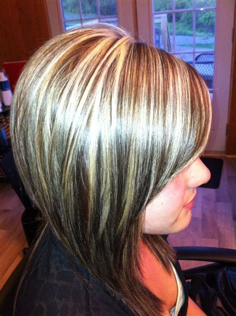 Foils Hairstyles by Foiling Hair All Color With