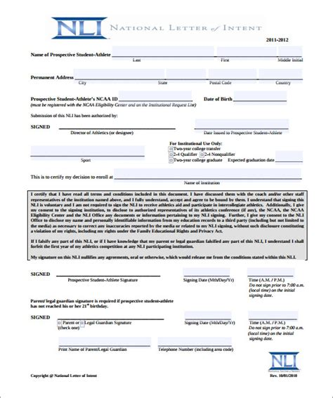 letter  intent   word  documents