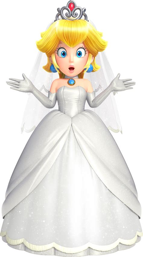 Image Smo Art Wedding Peach Mariowiki Fandom