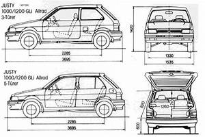 1991 Subaru Justy - Information And Photos
