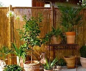 Bambus In Kübeln : den sichtschutzaun kreativ versch nern ideen f r ihren ~ Michelbontemps.com Haus und Dekorationen