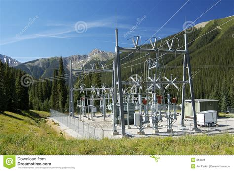 Power Substation Stock Image Image Of Grid, Transformers