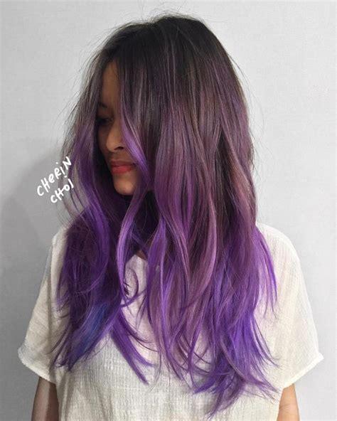 20 Ways To Wear Violet Hair In 2019 Hair Needs Hair