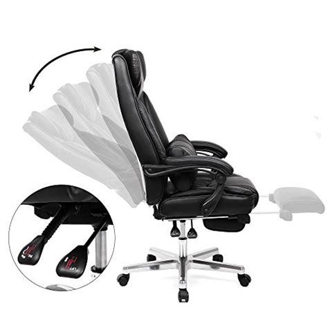 fauteuil de bureau grande taille songmics fauteuil de bureau avec appui tête modulable