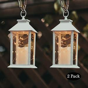 Evermore, Light, 14, U0026quot, Tall, Christmas, Candle, Lantern, With, 4, Hours, Timer, 30, Leds, Copper, Wire, String
