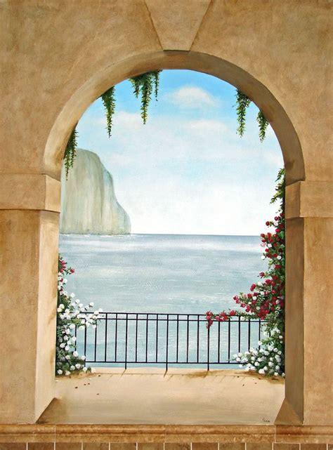 trompe l oeil cuisine trompe loeil murals trompe l oeil mural island of