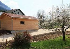 Garage Jullien : construction d 39 un garage saint julien en vercors os bois ~ Gottalentnigeria.com Avis de Voitures