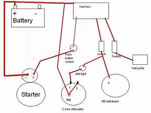 Diagram  Chevy Starter Wiring Diagram Hei Full Version Hd