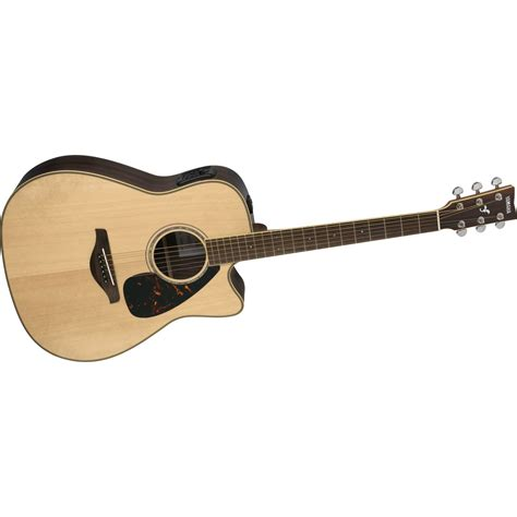best electric guitar yamaha fgx730sc solid top acoustic electric guitar