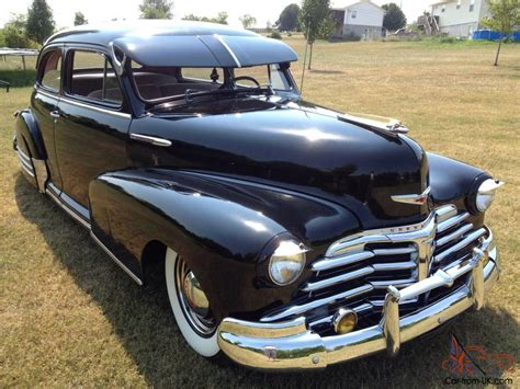 1948 Chevrolet Stylemaster, Fleetmaster, Fleetline, Bomb