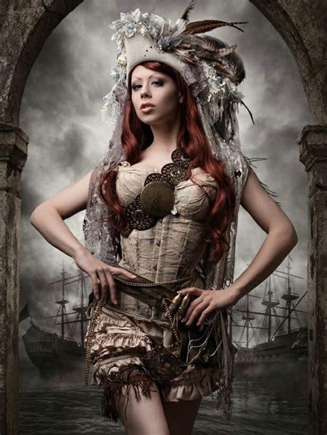 steampunk kleidung faszinierende idee zum karneval
