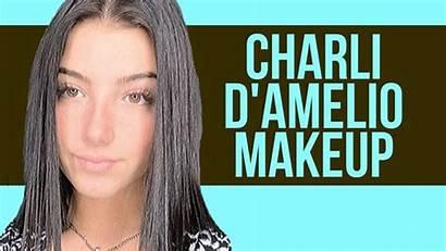 Charli Amelio Makeup Tutorial Looks Celebrity Dixie