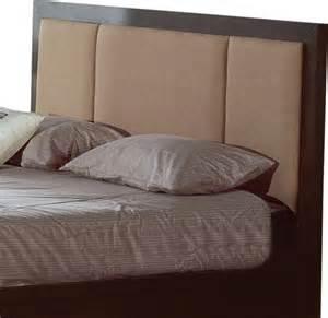 modern kitchen furniture design atlas fabric headboard in wenge finish