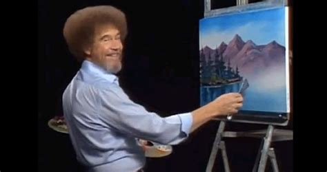 What Bob Ross Looked Like Before His Afro