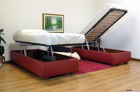 letti contenitore singoli letto singolo contenitore senza testata vama divani