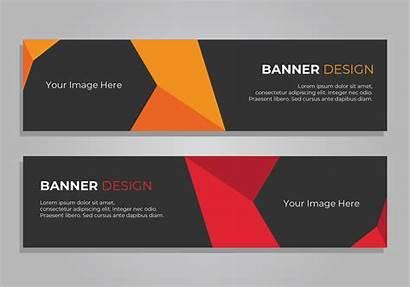 Banner Header Vector Corporate Web Template Vectors