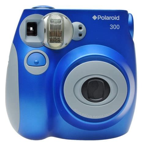 Polaroid 300 Instant Blue by Polaroid Pic 300 Instant Analog Blue With 2