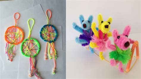 awesome pipe cleaner crafts  adults  kids styles