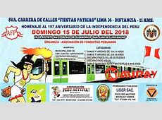 Carrera Fiestas Patrias 11K 2018 Running 4 Peru